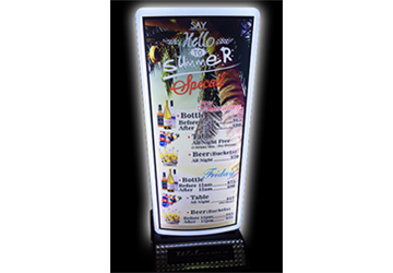 LED Outdoor Stand